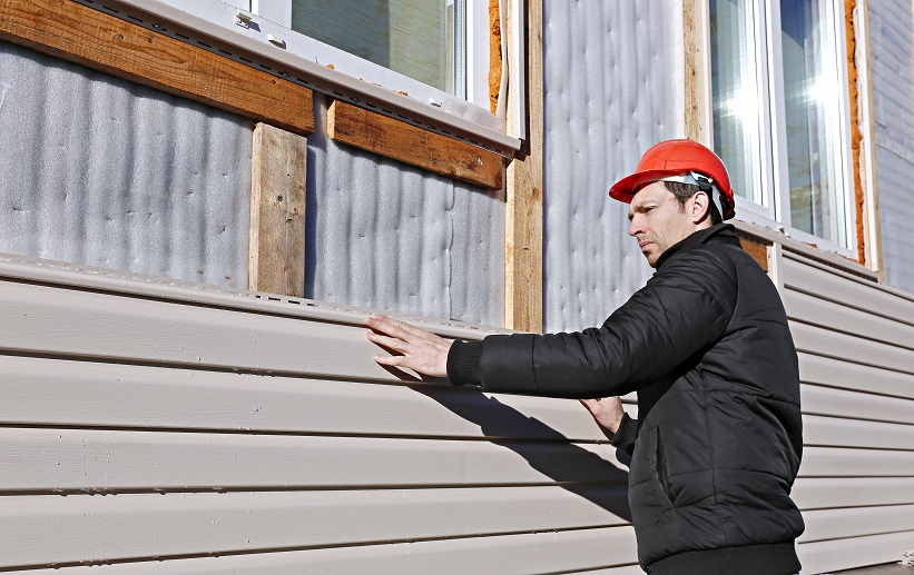 cement board siding Installation